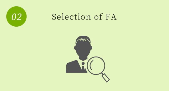 Selection of responsible FA